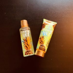 Pineapple Set Body Spray & Lotion Brand new VS